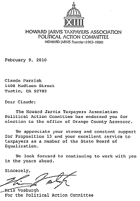 Howard Jarvis Taxpayer Association PAC
